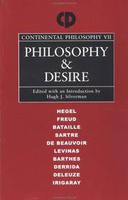 Philosophy and Desire (Continental Philosophy)