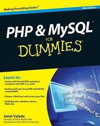 Php  Mysql For Dummies 4th Edition