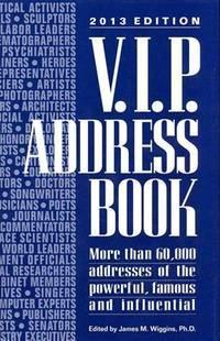 V.I.P. Address Book 2013