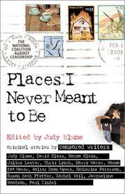 Places I Never Meant To Be