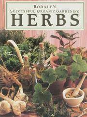 image of Rodale's Successful Organic Gardening: Herbs