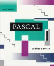 image of Pascal: An Introduction to the Art and Science of Programming