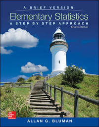 image of Elementary Statistics: A Step By Step Approach - A Brief Version