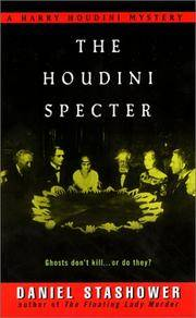 The Houdini Specter: A Harry Houdini Mystery (Harry Houdini Mysteries) by  Daniel Stashower - from Wonder Book (SKU: M03OS-00434)
