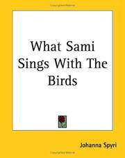 What Sami Sings With the Birds