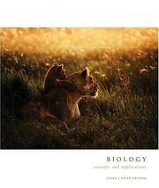 image of Biology: Concepts and Applications, Annotated Instructor's Edition, 5th Edition