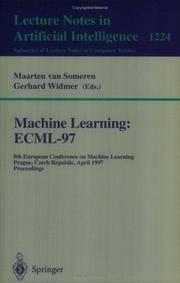 MACHINE LEARNING: ECML'97