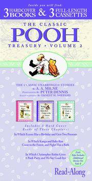 The Original Pooh Treasury: Eeyore Has a Birthday, Kanga and Baby Roo Come to the Forest, Christopher Robin Gives a Pooh Party (The Original Pooh Treasury , Vol 2, No 4,5&6) by A. A. Milne; Narrator-Peter Dennis - Hardcover - 1997-03 - from Wilbur (SKU: CHD4-8)