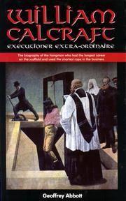 William Calcraft  Executioner Extra-Ordinaire
