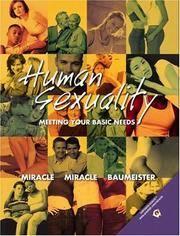 Human Sexuality: Meeting Your Basic Needs