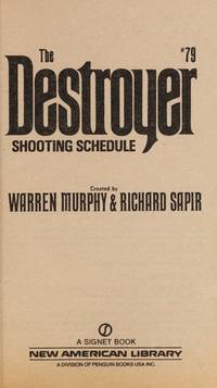 The Destroyer, #79: Shooting Schedule