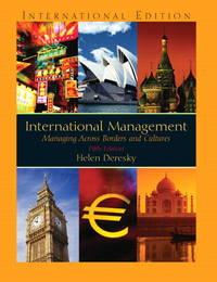 image of INTERNATIONAL MANAGEMENT:MANAGEMENT ACROSS BORDERS