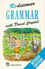 Rediscover Grammar by David Crystal - Paperback - 03/14/1988 - from Greener Books Ltd and Biblio.com