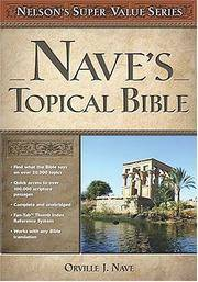 image of Nave's Topical Bible (Super Value Series)