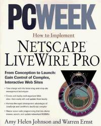 PCWEEK how to implement Netscape LiveWire Pro