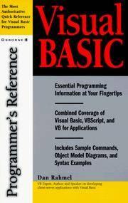 Visual Basic: Programmer's Reference (Programmer's Reference)