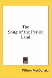 Song Of the Prairie Land
