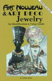 Art Nouveau and Art Deco Jewelry: An Identification and Value Guide by  Lillian Baker - Paperback - from Bonita (SKU: 0891451587)