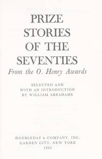 Prize Stories of the `70s : From the O. Henry Awards