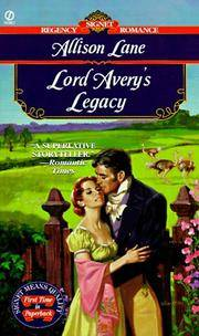 Lord Avery\'s Legacy