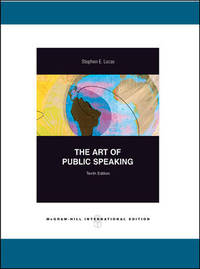 Art of Public Speaking by  Stephen Lucas - Paperback - from Cloud 9 Books and Biblio.com
