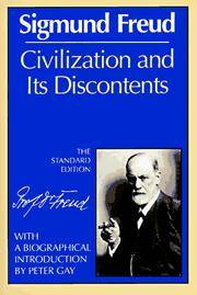 Civilization and Its Discontents (The Standard Edition)  (Complete Psychological Works of Sigmund Freud) by  Sigmund Freud - Paperback - from Good Deals On Used Books and Biblio.com