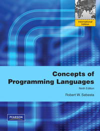 image of Concepts of Programming Languages : International Version