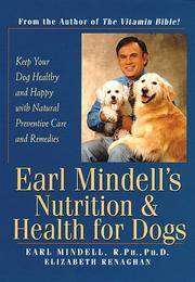 Earl Mindell's Nutrition & Health for Dogs