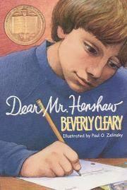 DEAR MR HENSHAW NEWBERY AWARD 84
