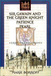 Sir Gawain and the Green Knight, Patience and Pearl