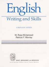 English: Writing and Skills, Fifth Course by N - from Better World Books  and Biblio.com