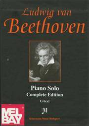 Beethoven, Piano Solo, Complete Edition: 4 Vol. Boxed Set