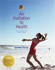 An Invitation to Health (with Profile Plus 2005, Health, Fitness and Wellness Explorer, and InfoTrac by Dianne Hales - Paperback - 2004 - from Hizbooks and Biblio.com