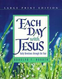 each day with jesus - daily devotions through the year - large print