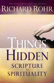 image of Things Hidden: Scripture As Spirituality