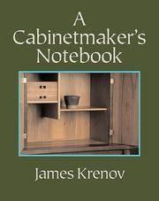 Cabinetmaker's Notebook, A