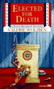 Elected for Death (A Susan Henshaw Mystery).