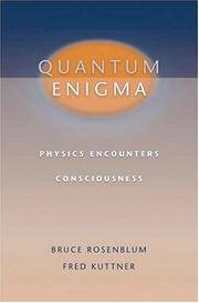 Quantum Enigma: Physics Encounters Consciousness by  Fred  Bruce; Kuttner - Hardcover - 2006-06-29 - from Cronus Books, LLC. (SKU: 210301038)