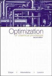 Optimization of Chemical Processes (2nd Hardcover Edition)