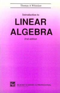 INTRODUCTION TO LINEAR ALGEBRA, SECOND EDITION