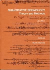 Quantitative Seismology  Theory and Methods Volume II