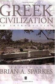 Greek Civilization : An Introduction