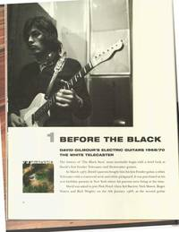 PINK FLOYD: THE BLACK STRAT. A HISTORY OF DAVID GILMOUR'S BLACK FENDER STRATOCASTER.