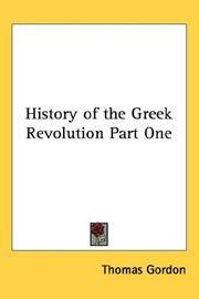 image of History of the Greek Revolution Part One