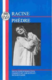 image of Phaedra (French Texts)
