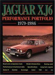 Jaguar XJ6 Performance Portfolio 1979-1986 (Brooklands Road Test Books)
