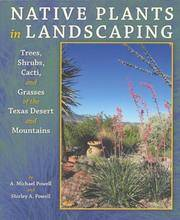 Native Plants in Landscaping Trees, Shrubs, Cacti, and Grasses of the  Texas Desert and Mountains