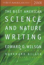 The Best American Science  Nature Writing 2001