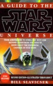 A Guide to the Star Wars Universe by  Bill Slavicsek - Paperback - First Edition - 1995 - from Zardoz Books (SKU: 12826)