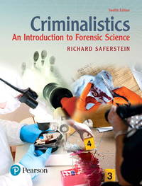 image of Criminalistics: An Introduction to Forensic Science (12th Edition)